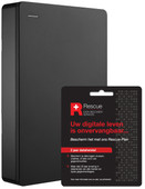 Seagate 4TB Backup Plus Portable + 2 jaar Data hersteldienst