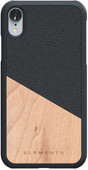 Nordic Elements Hel Apple iPhone Xr Back Cover Grijs/Hout