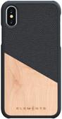 Nordic Elements Hel Apple iPhone X/Xs Back Cover Grijs/Hout