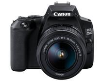 Canon EOS 250D Zwart + 18-55mm f/3.5-5.6 DC III + Tas + 16GB