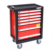 Airpress Professional tool trolley 217 parts