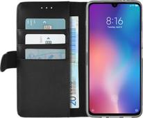 Azuri Wallet Book Case Magnétique Xiaomi Mi 9 Noir