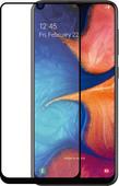 Azuri Gehard Glas Samsung Galaxy A20e Screenprotector Glas Zwart