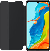 Huawei P30 Lite View Flip Cover Book Case Black