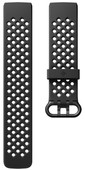 Fitbit Charge 3 Sportband Silicone Black S