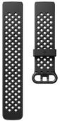 Fitbit Charge 3 Bracelet sportif en Silicone Noir S