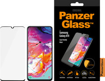 PanzerGlass Case Friendly Samsung Galaxy A70 Screenprotector Glas Zwart