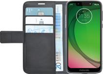 Azuri Wallet Magneet Motorola Moto G7 Play Book Cover Zwart