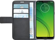 Azuri Wallet Magnet Motorola Moto G7 Power Book Cover Black