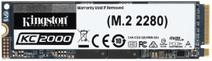 Kingston 250 Go KC2000 M.2 2280 NVMe SSD
