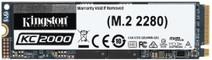 Kingston 500 Go KC2000 M.2 2280 NVMe SSD