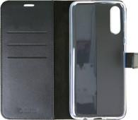 Valenta Booklet Gel Skin Samsung Galaxy A70 Cuir Noir