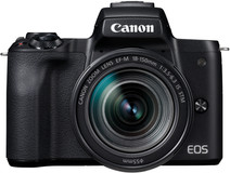Canon EOS M50 Body Zwart + 18-150mm IS STM