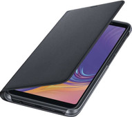 Samsung Galaxy A7 (2018) Wallet Book Case Black