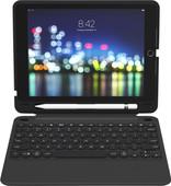 ZAGG Slim Book Go Étui Clavier Apple iPad 9,7 pouces (2017/2018) AZERTY Noir