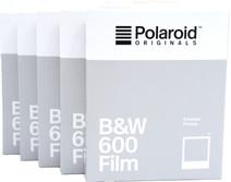 Polaroid Originals B&W Instant Photo Paper 600 (5x 8 pieces)