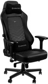 Noblechairs HERO Gaming Chair PU Faux Leather - black / white