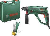 Bosch PBH 2100 Universal + set de forets et burins SDS-Plus 4 pièces