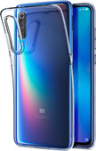 Spigen Liquid Crystal Xiaomi Mi 9 Back Cover Transparant