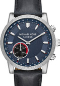 Michael Kors Access Hutton Bleu/Argent