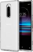 Spigen Liquid Crystal Sony Xperia 1 Back Cover Transparant