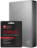 Seagate 4TB Backup Plus Portable + 2 jaar Data hersteldienst