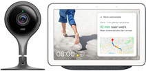 Google Nest Cam Indoor + Google Nest Hub Charcoal