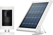 Ring Stick Up Cam Wit + Solar Panel