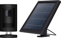 Ring Stick Up Cam Zwart + Solar Panel