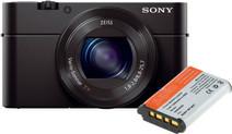 Sony CyberShot DSC-RX100III + Sony NP-BX1 Battery