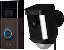 Ring Video Deurbel 2 + Ring Spotlight Cam