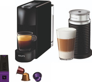 Krups Nespresso Essenza Mini XN1118 Black + Milk Frother