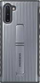 Samsung Galaxy Note 10 Coque Renforcée Argent