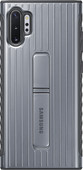 Samsung Galaxy Note 10 Plus Protective Standing Back Cover Silver
