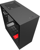 NZXT H510 Black / Red