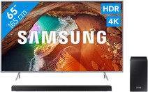 Samsung QE65Q64R - QLED + Barre de son