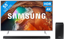 Samsung QE55Q64R - QLED + Barre de son