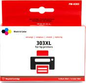 Pixeljet HP 303 4-kleuren XL voor HP printers
