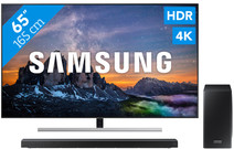 Samsung QE65Q80R - QLED + Soundbar