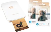 HP Sprocket Plus Blanc + papier photo