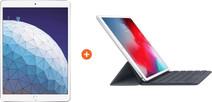 "Apple iPad Air (2019) 10,5"" Zilver 64GB 4G  + Smart Keyboard Azerty"