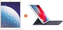 Apple iPad Air (2019) 10.5-inch Gold 64GB 4G + Smart Keyboard AZERTY