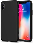 Spigen Liquid Crystal Coque arrière Apple iPhone X Noir