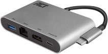 ACT USB-C 4K Multiport Dock