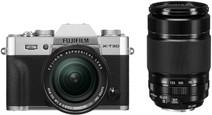 FujiFilm X-T30 Zilver + XF 18-55mm f/2.8-4.0 +  XF 55-200mm f/3.5-4.8