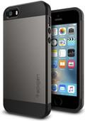Spigen Slim Armor Apple iPhone 5/5S/SE Grijs