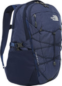 "The North Face Womens Borealis 15"" Montague Blue Light Heather/Grey 25L"