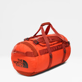 The North Face Base Camp Duffel M Acrylc Orange / Picante Red