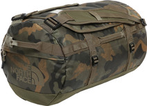The North Face Base Camp Duffel S Burnt Olive Green Woods Camo