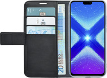 Azuri Wallet Honor 8x Book Case Black
